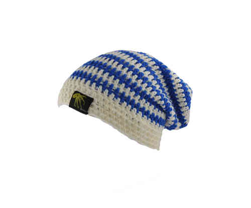 kallimari beanie  blue and white