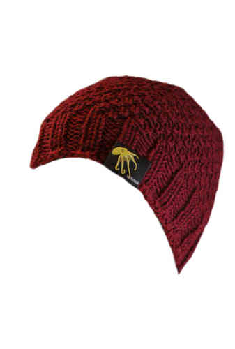 kallimari beanie wine red